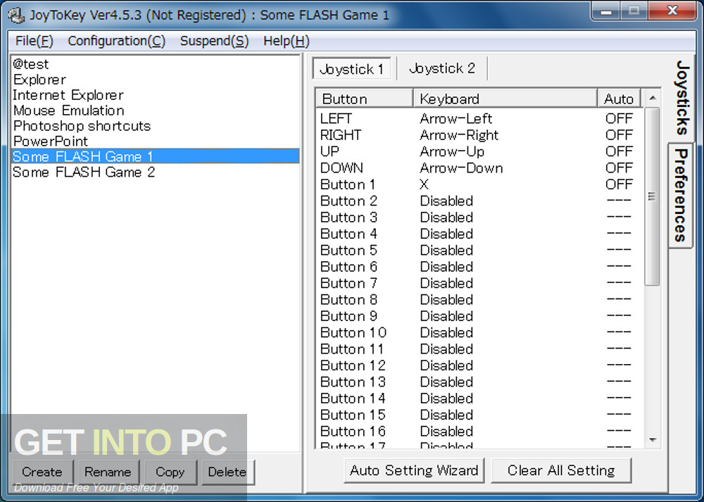 JoyToKey Keyboard Emulator Latest Version Download-GetintoPC.com