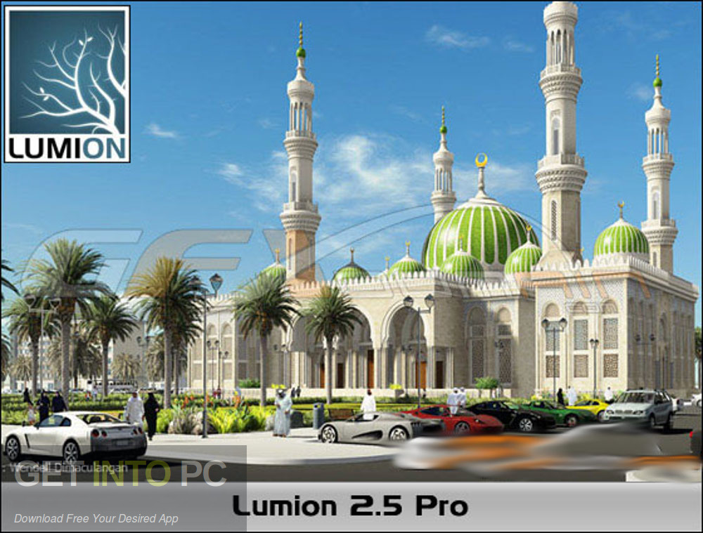 Lumion 2.5 Pro v2012 Direct Link Download-GetintoPC.com
