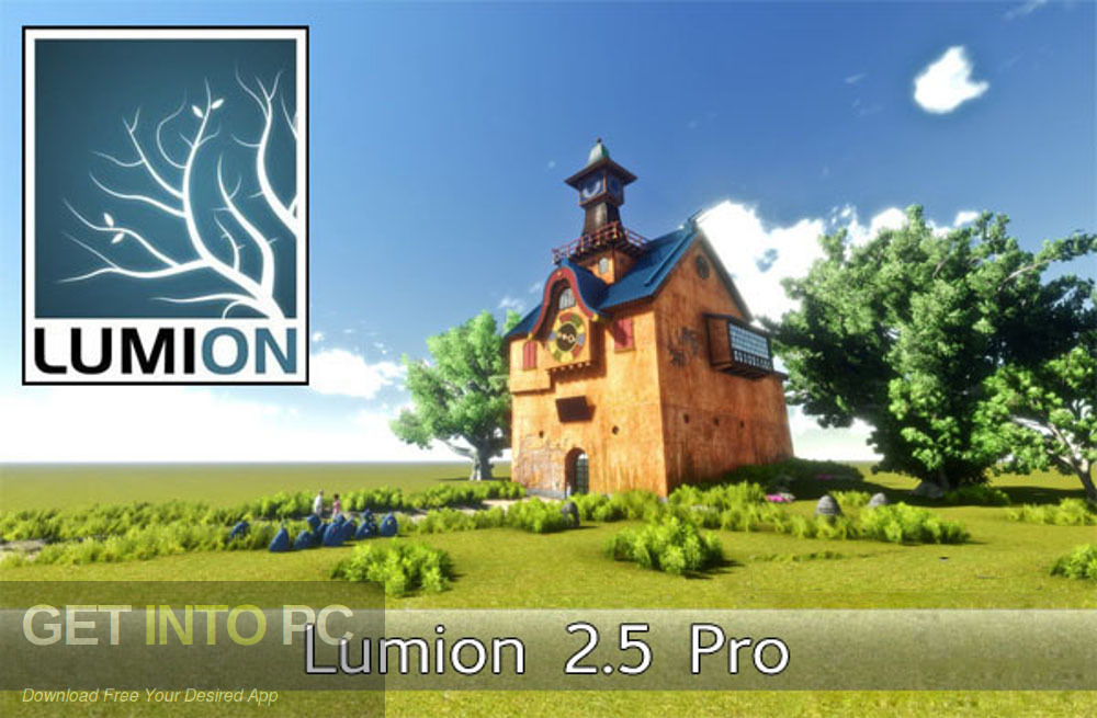 Lumion 2.5 Pro v2012 Latest Version Download-GetintoPC.com