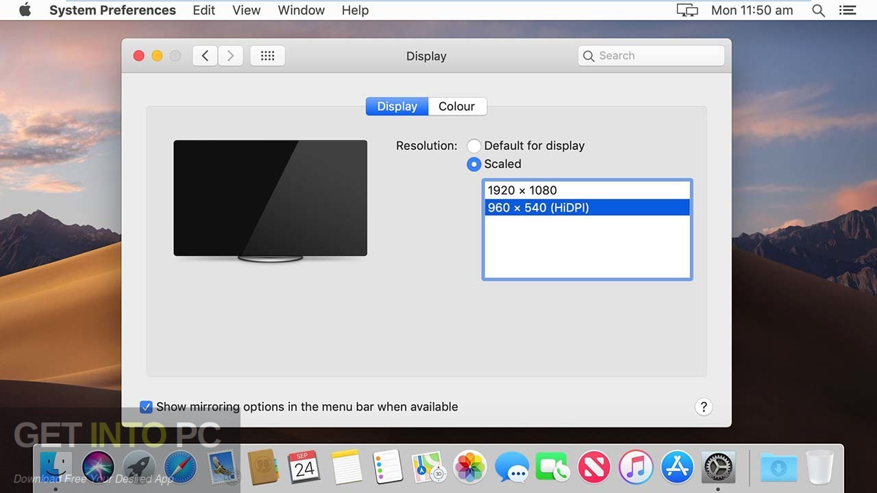 Mac OS Mojave 10.14.1 VMWare Image Latest Version Download-GetintoPC.com