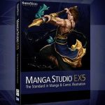Manga Studio EX + Materials Free Download