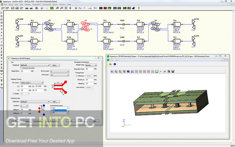 Mentor Graphics HyperLynx Latest Version Download-GetintoPC.com