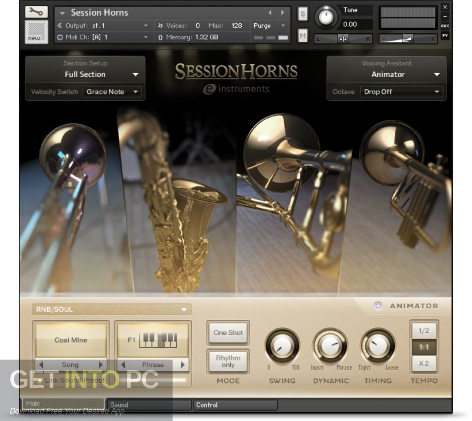 Native instruments Session Horns KONTAKT Library Offline Installer Download-GetintoPC.com