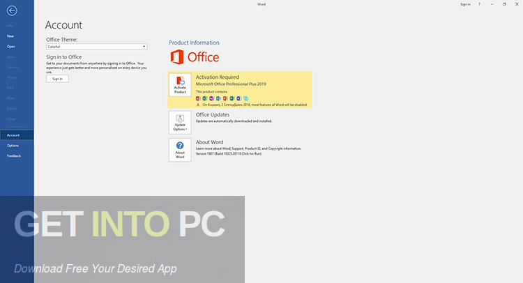 Office 2019 Professional Plus Mar 2019 Direct Link Download-GetintoPC.com