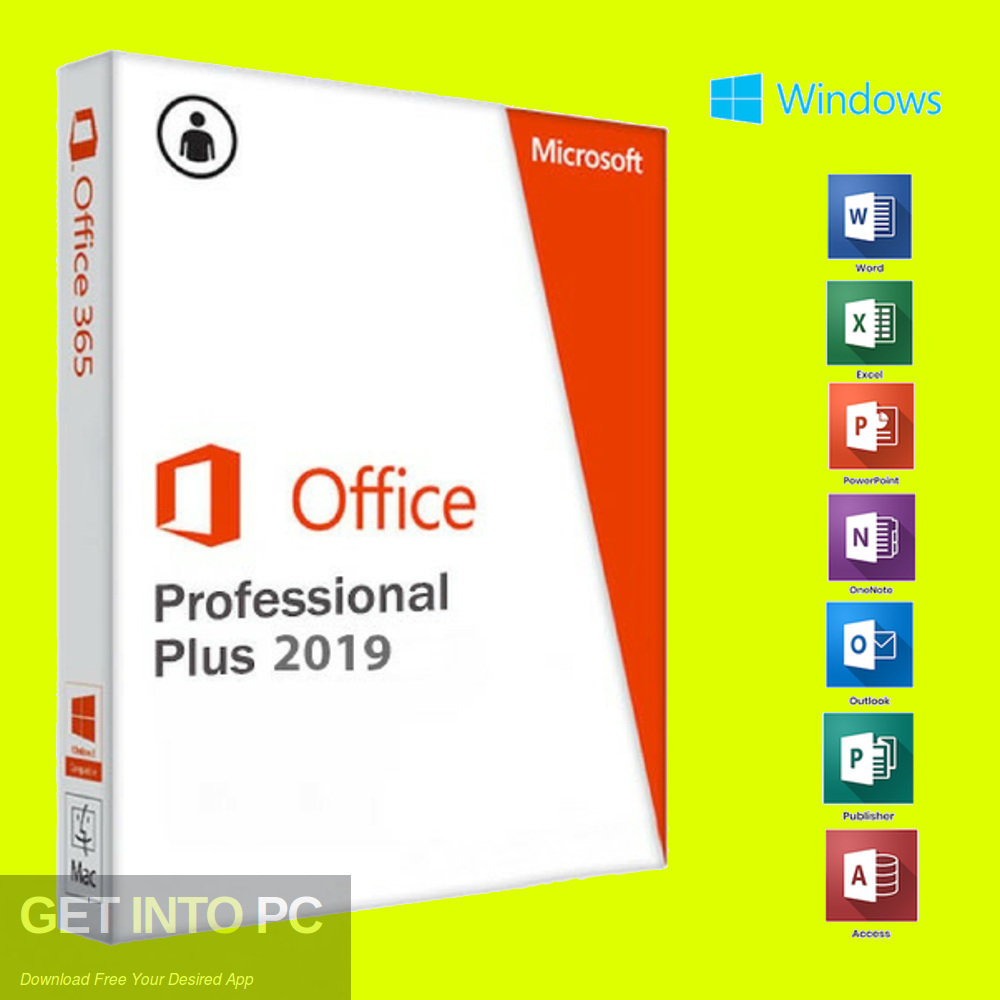 Office 2019 Professional Plus Mar 2019 Free Download-GetintoPC.com