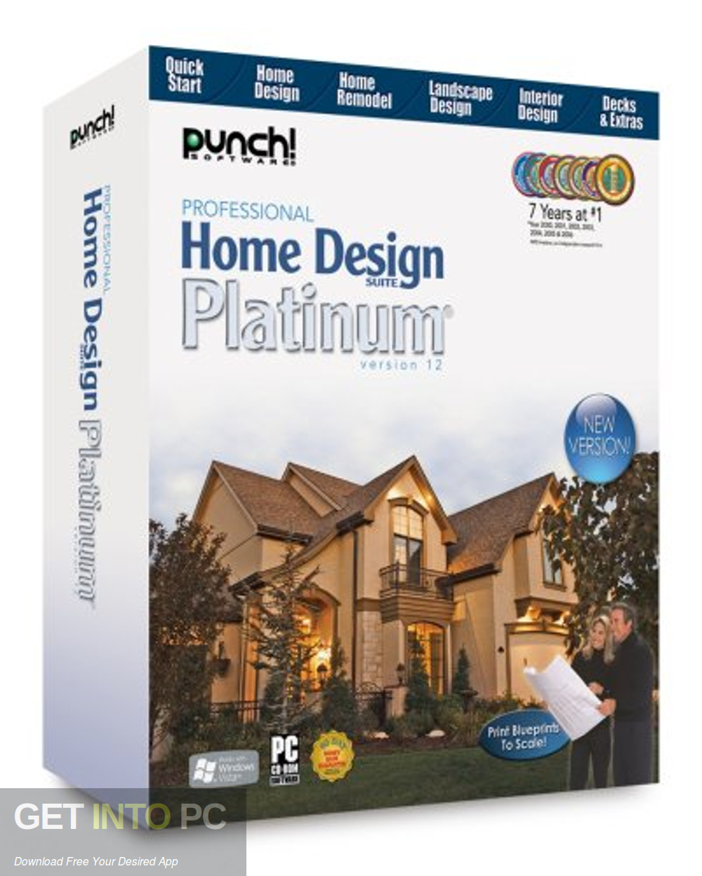 Punch Professional Home Design Suite Platinum Free Download-GetintoPC.com