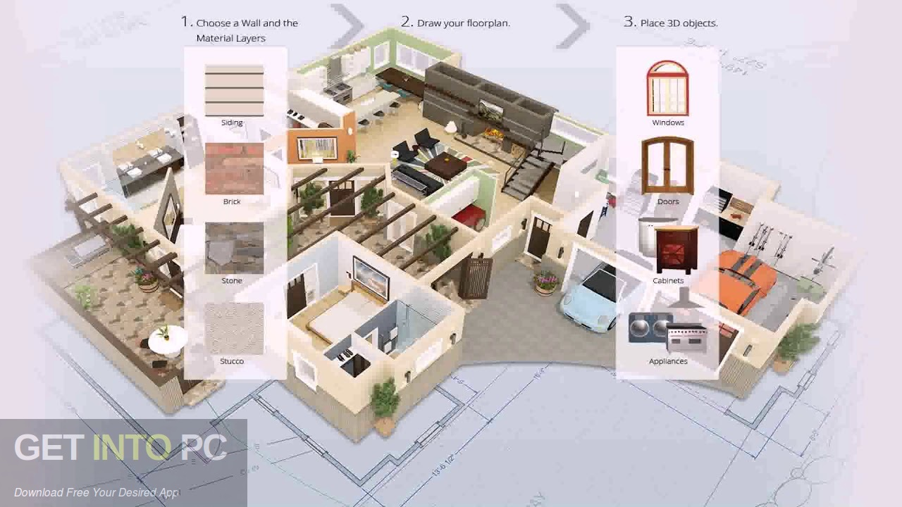 Punch Professional Home Design Suite Platinum Latest Version Download-GetintoPC.com