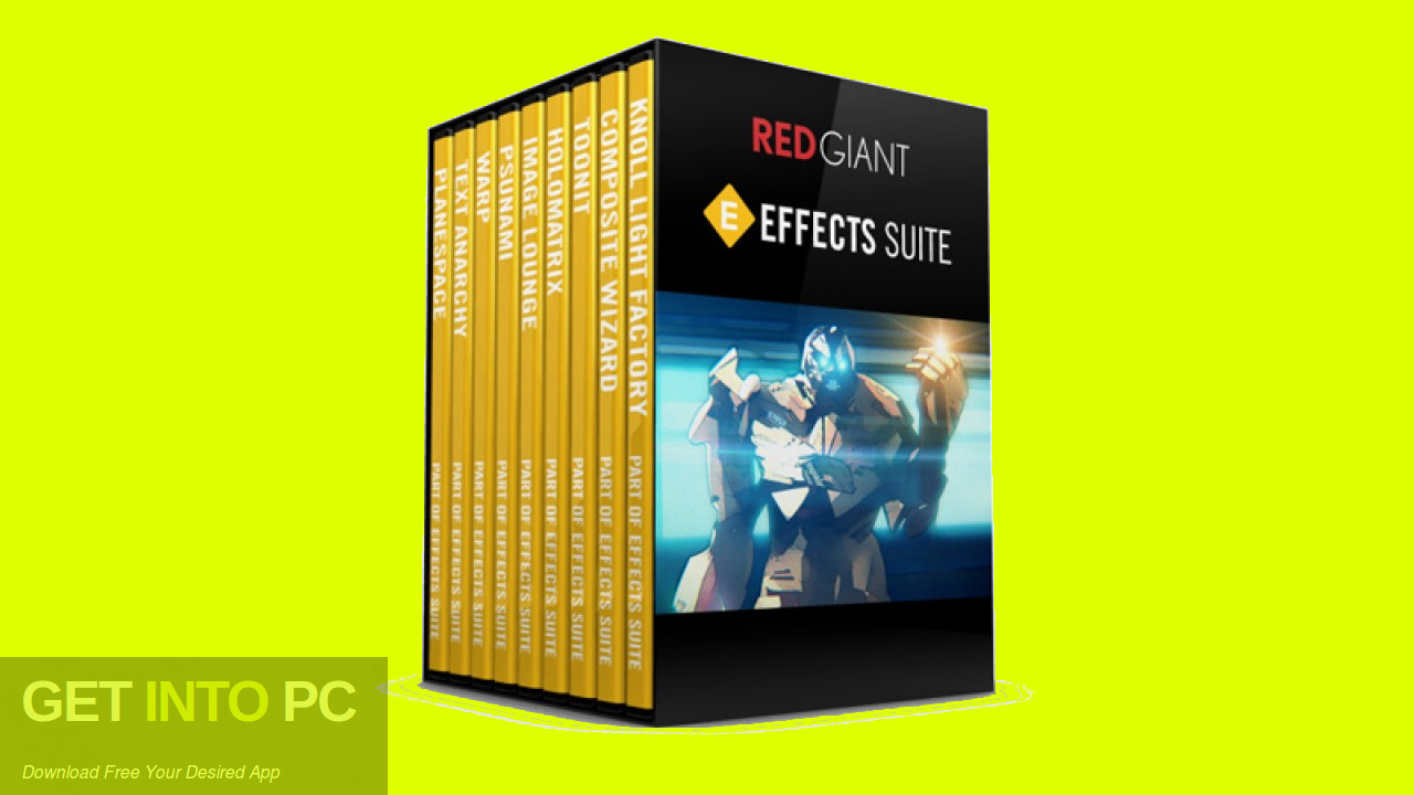 Red Giant Effects Suite Free Download-GetintoPC.com