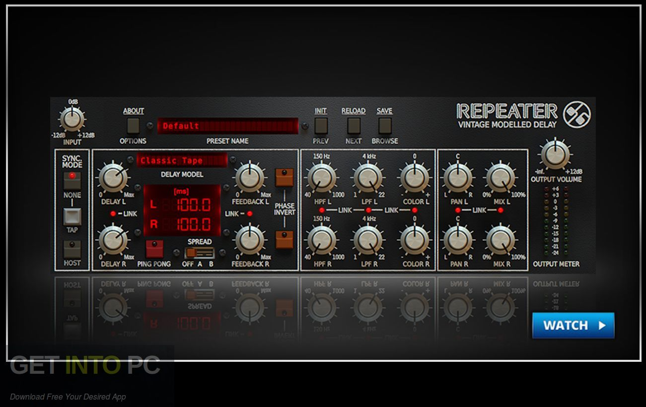 Repeater VST Offline Installer Download-GetintoPC.com