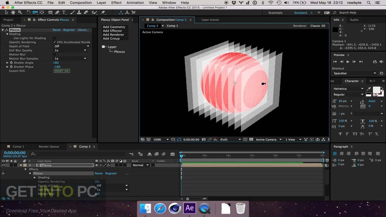 Rowbyte Plexus 3 for After Effects Latest Version Download-GetintoPC.com