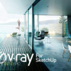 V-Ray for SketchUp 2018 Free Download-GetintoPC.com
