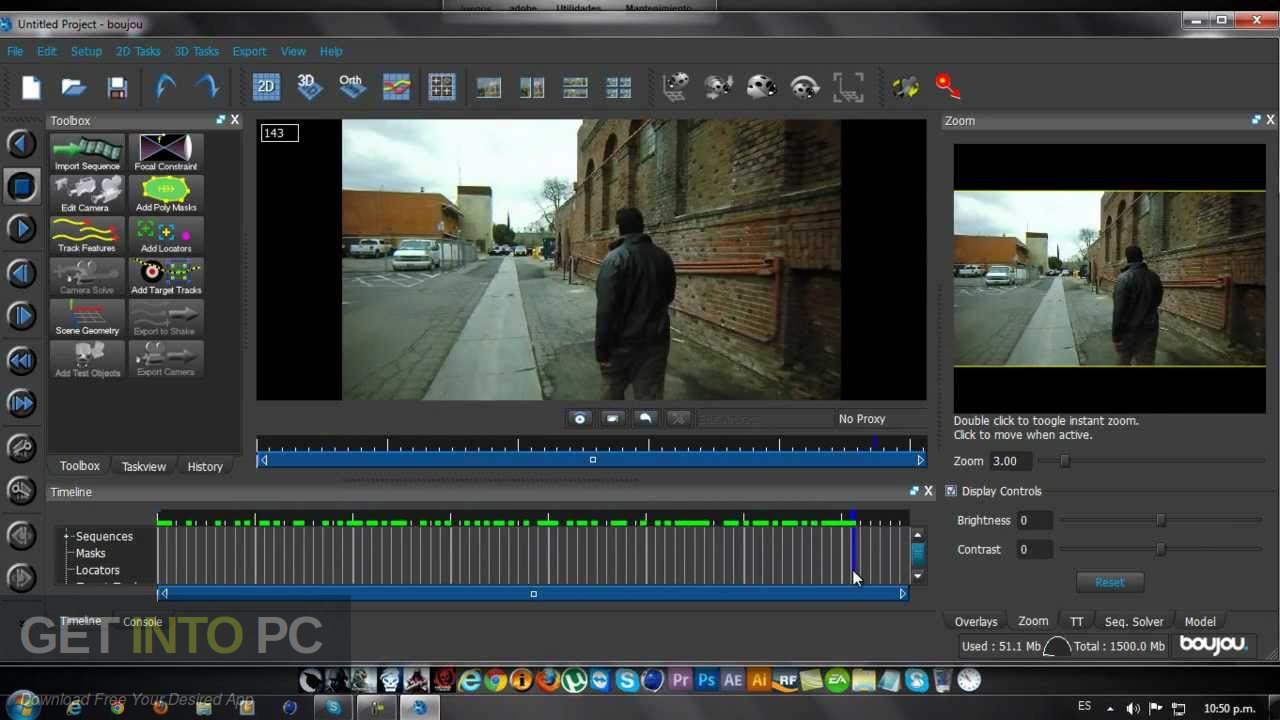 Vicon Boujou Camera Tracking Software Latest Version Download-GetintoPC.com