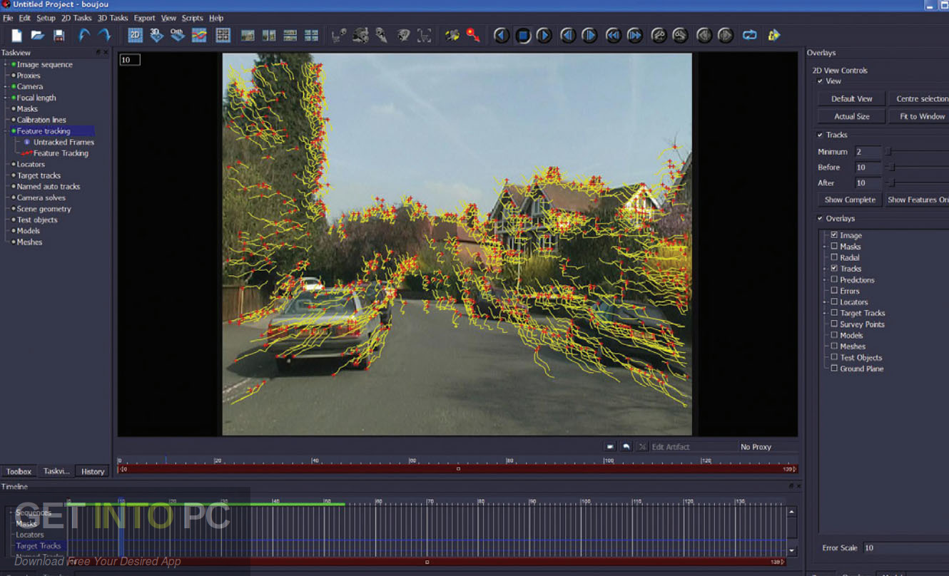 Vicon Boujou Camera Tracking Software Offline Installer Download-GetintoPC.com