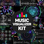 Download VideoHive Music Visualizer Kit for After Effects
