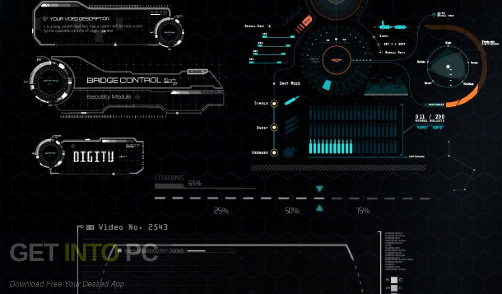 VideoHive Quantum HUD Infographic for After Effects Direct Link Download-GetintoPC.com