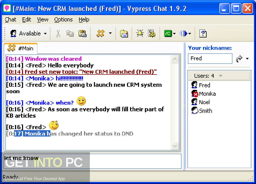 Vypress LAN Chat Direct Link Download-GetintoPC.com