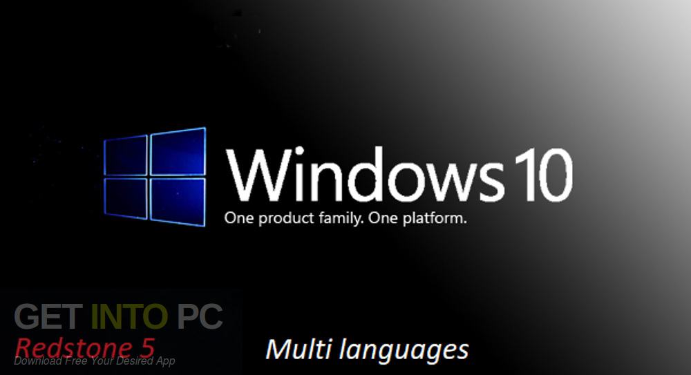 Windows 10 Pro x64 Redstone 5 Multi-Language-24 ISO Free Download-GetintoPC.com