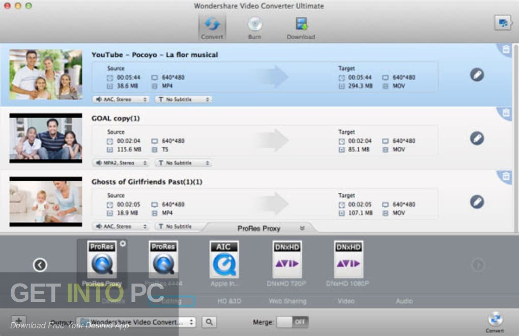 Wondershare Video Converter Ultimate for Mac Latest Version Download-GetintoPC.com