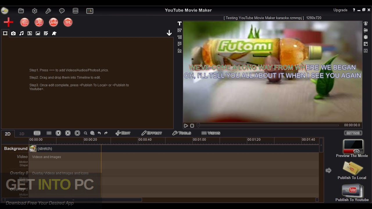 YouTube Movie Maker Platium Latest Version Download-GetintoPC.com