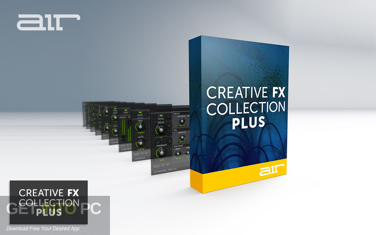 AIR Music Technology Creative FX Collection Plus VST Free Download-GetintoPC.com