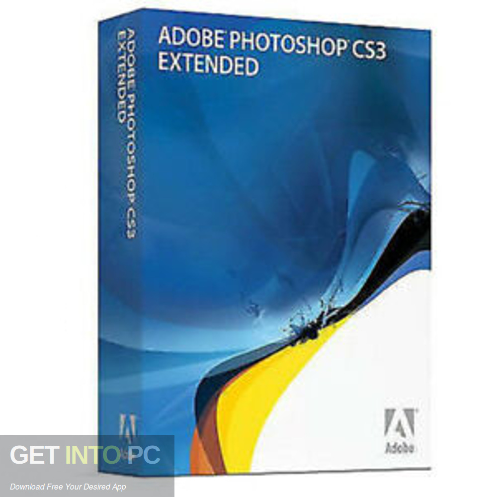 Adobe Photoshop CS3 Extended Free Download-GetintoPC.com