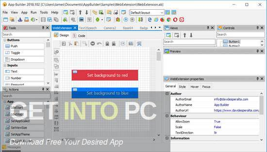 App Builder 2019 Direct Link Download-GetintoPC.com