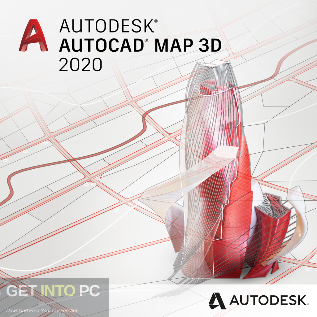 Autodesk AutoCAD Map 3D 2020 Free Download-GetintoPC.com
