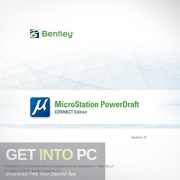 Bentley MicroStation PowerDraft CONNECT Edition Free Download-GetintoPC.com