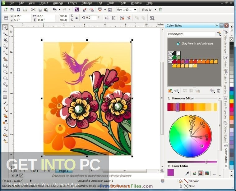 CorelDRAW 2017 Portable Latest Version Download-GetintoPC.com