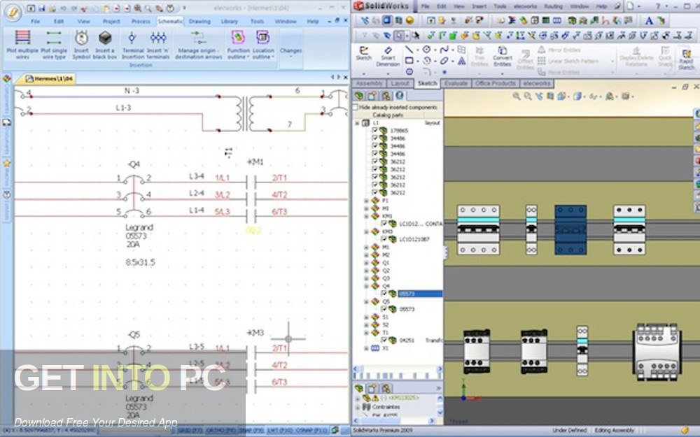 Elec Works 2009 for SolidWorks Latest Version Download-GetintoPC.com