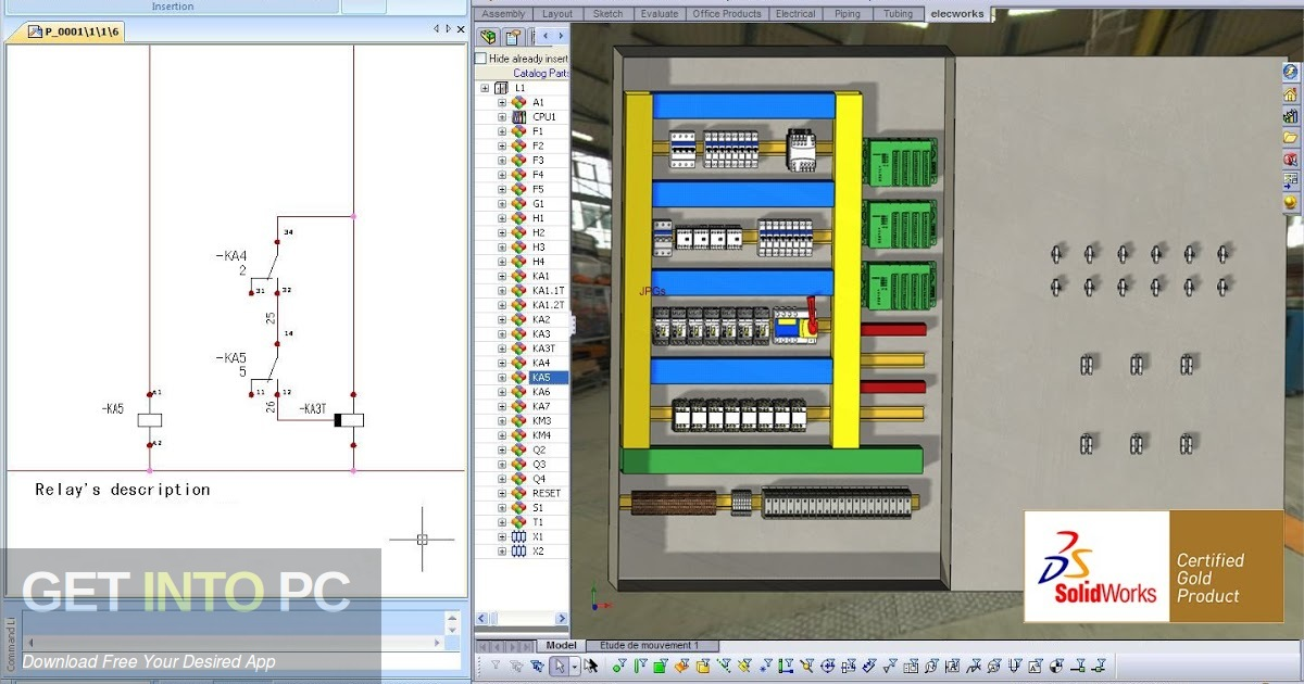 Elec Works 2009 for SolidWorks Offline Installer Download-GetintoPC.com