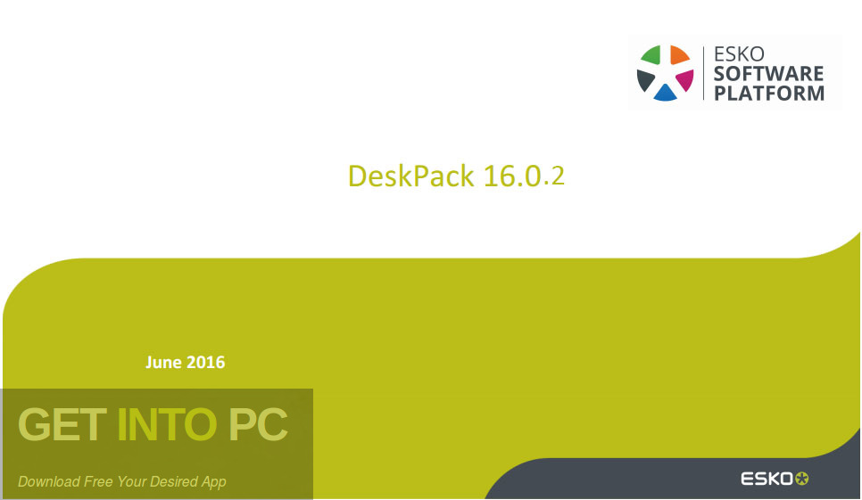 Esko DeskPack 2016 Download For Free-GetintoPC.com