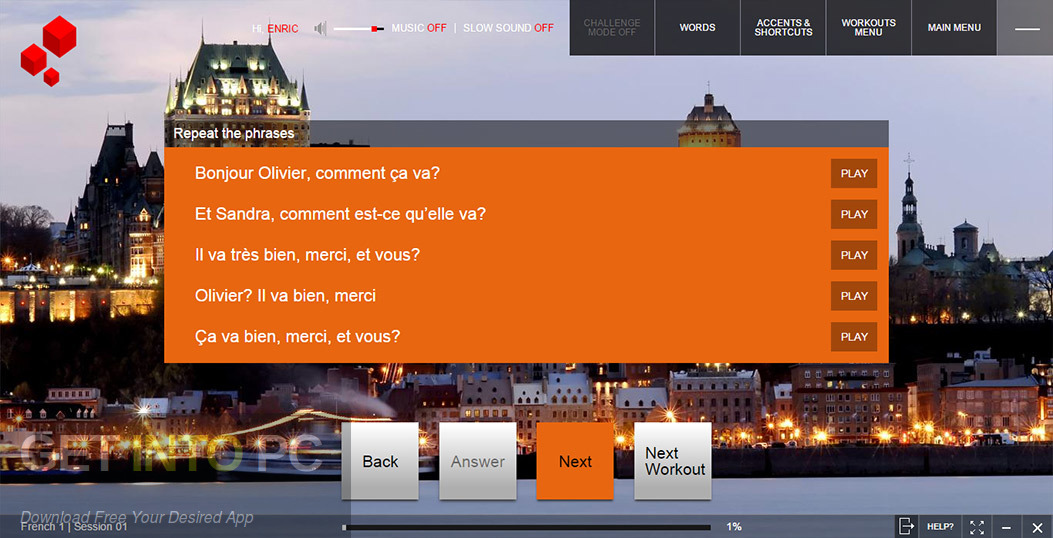 Fluenz French Full Language Multimedia Course Direct Link Download-GetintoPC.com