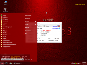 Gandalf's Windows 10 PE Live Rescue ISO Free Download