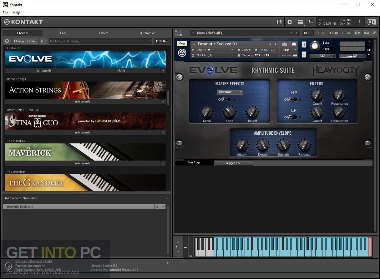Heavyocity - Evolve R2 Kontakt Library Latest Version Download-GetintoPC.com