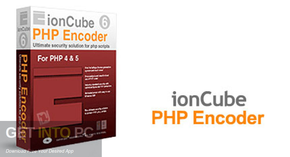 IonCube PHP Encoder for PHP 4 PHP 5 Free Download-GetintoPC.com