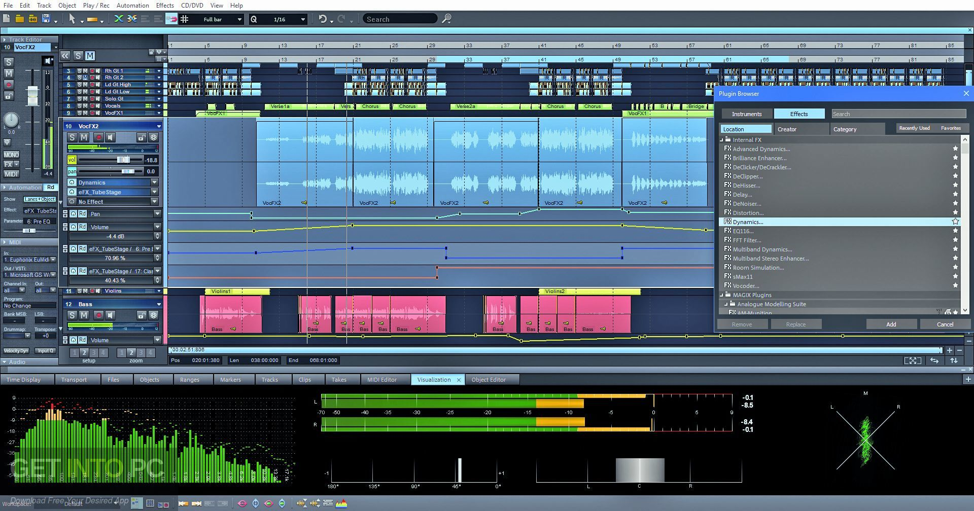 MAGIX Samplitude Pro X4 Suite Direct Link Download-GetintoPC.com