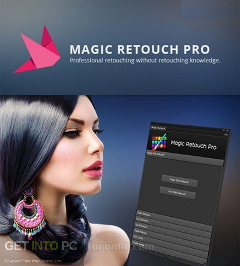 Magic Retouch Pro Photoshop Plugin Free Download-GetintoPC.com