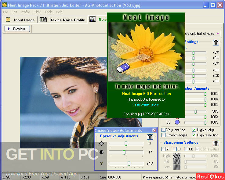 Neat Image Pro Plus 2011 Direct Link Download-GetintoPC.com