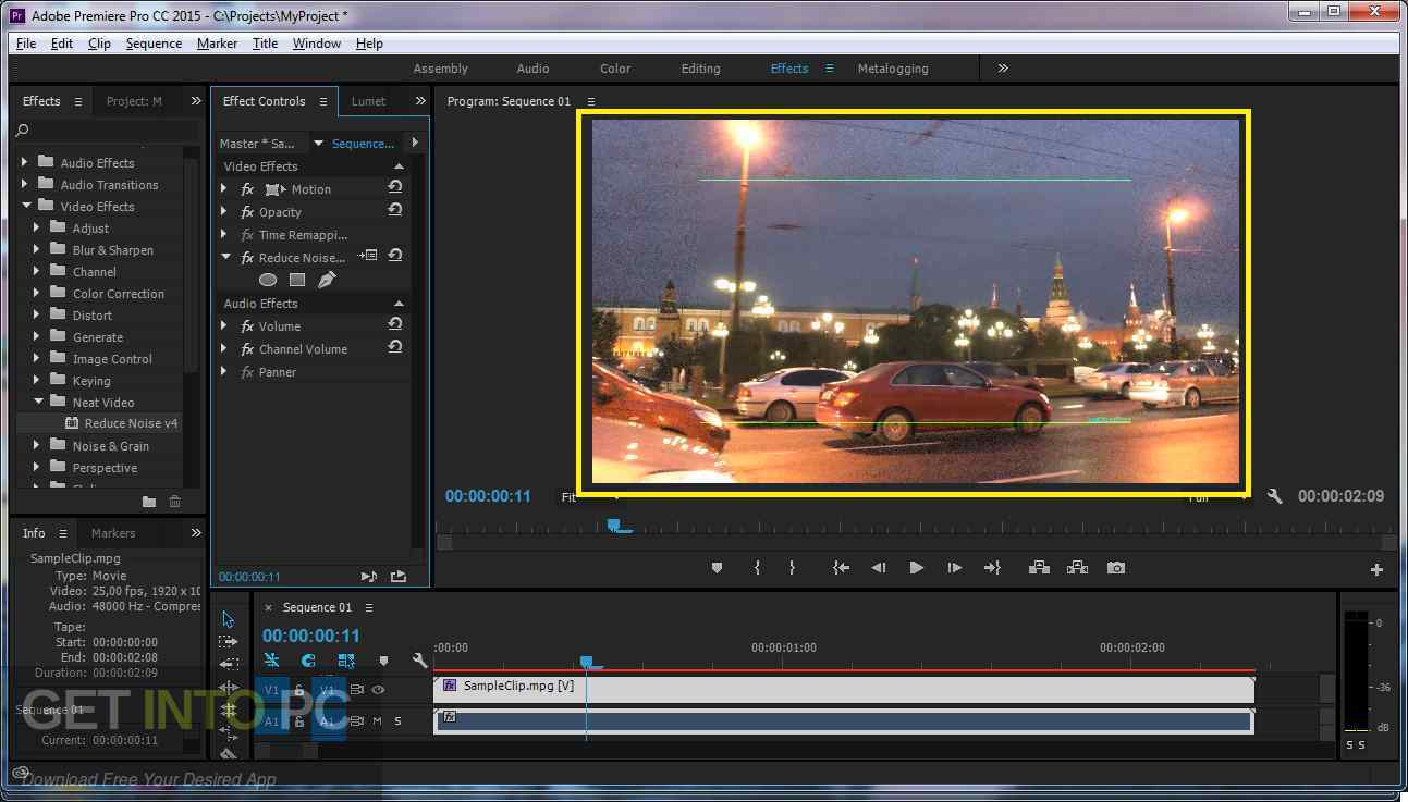 Neat Video Pro for Premiere Pro Offline Installer Download-GetintoPC.com