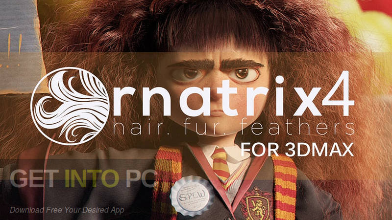Ornatrix v4.4.0 for 3ds Max 2011-2017 Free Download-GetintoPC.com