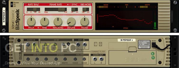 Sonic Charge Bitspeek VST Latest Version Download-GetintoPC.com