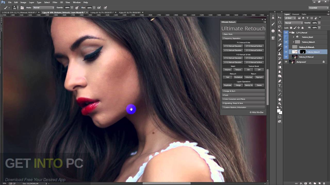 Ultimate Retouch Panel Photoshop Plugin Offline Installer Download-GetintoPC.com