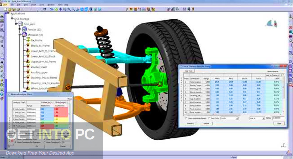 3DCS Variation Analyst 7.6.0.0 for CATIA V5 R20-29 x64 Direct Link Download-GetintoPC.com