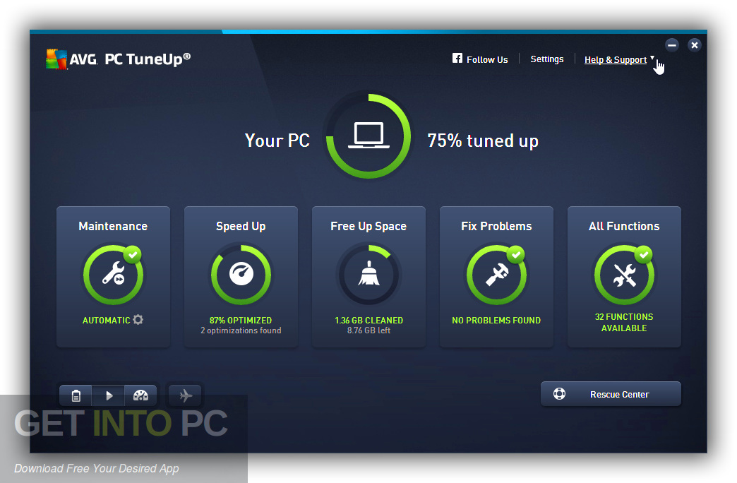 AVG TuneUp 2019 Direct Link Download-GetintoPC.com