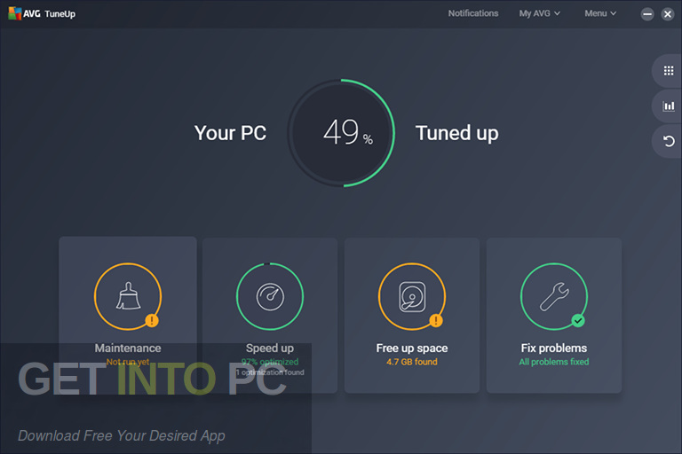 AVG PC TuneUp Full Version Free Download for Windows 10
