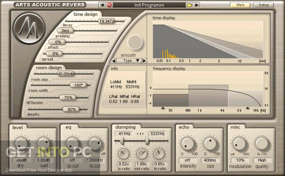 ArtsAcoustic - Reverb VST Direct Link Download-GetintoPC.com