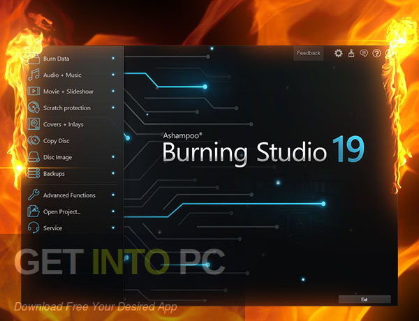 Ashampoo Burning Studio 2019 Latest Version Download-GetintoPC.com
