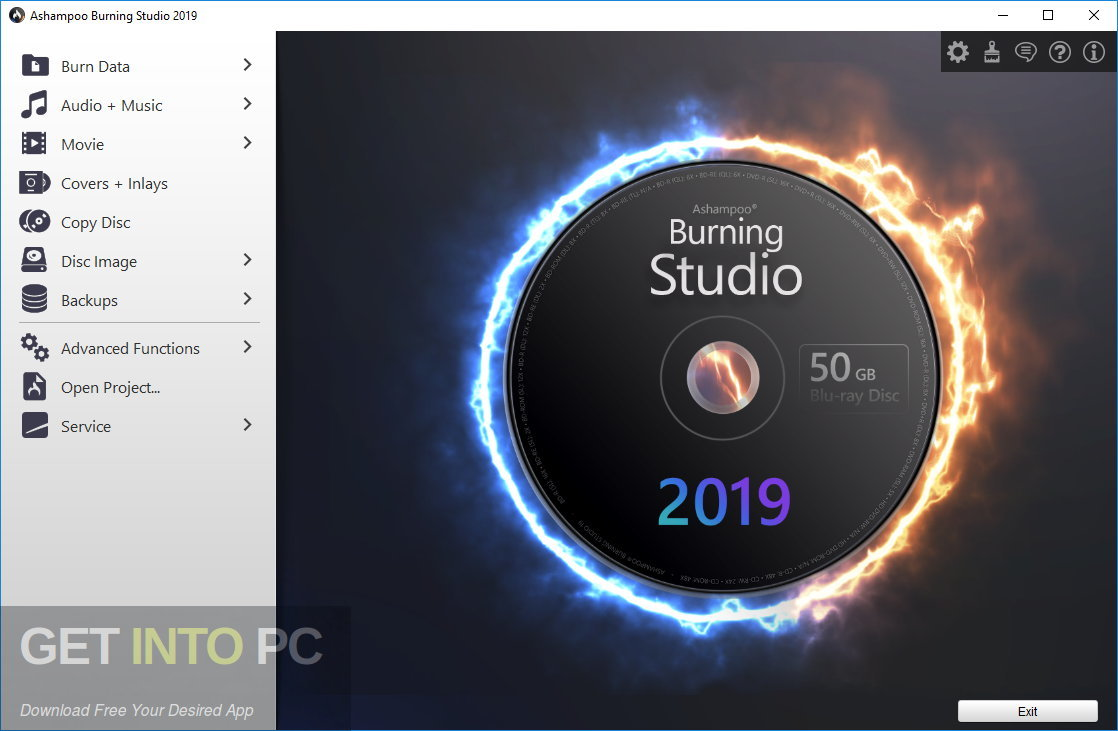 Ashampoo Burning Studio 2019 Offline Installer Download-GetintoPC.com
