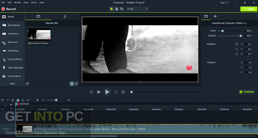 Camtasia 2019 Offline Installer Download-GetintoPC.com